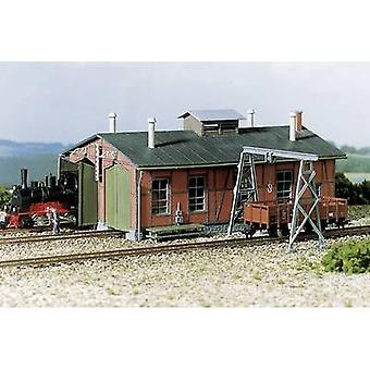 Auhagen 11 355 H0 Engine shed two-constant with gantry crane