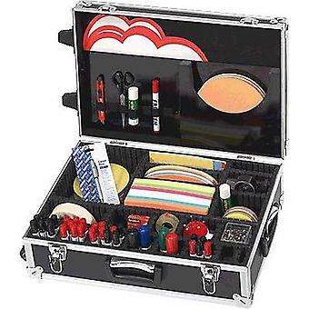 Franken Trainer Presentation accessories case Aluminium No. of parts: 3000 54 cm x 18 cm x 36 cm Black, Silver