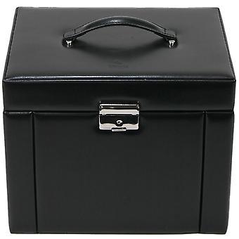 Jewelry box fine jewelry cassette black jewelry box black