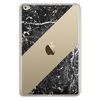iPad Mini 4 przezroczyste przypadku (Soft) - czarny marmur