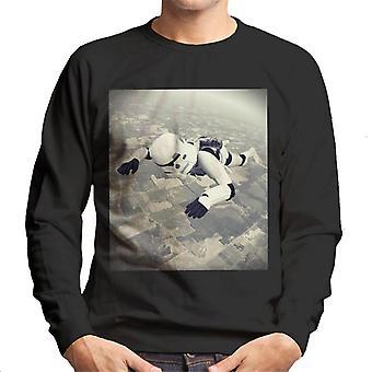 Original Stormtrooper Skydiving Men's Sweatshirt