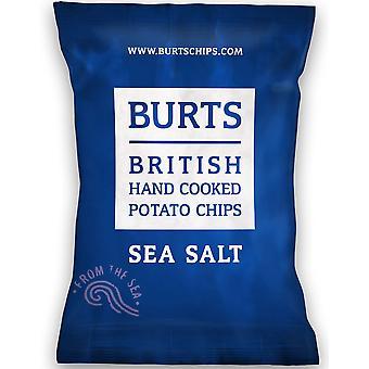 Burts グルテン無料海塩ポテトチップス