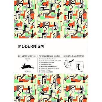 Modernism - Gift & Creative Paper Book - Vol. 70 by Pepin Van Rooje