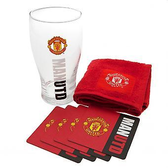 Manchester United FC oficial Mini Bar Set