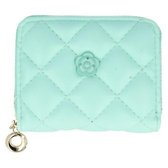 Ella Quilted Purse With Flower Detail 73108