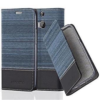 Cas Cadorabo pour HTC ONE M8 case cover - étui téléphonique avec fermoir magnétique, fonction du stand et compartiment de carte - Case Cover Cover Case Case Book Folding Style