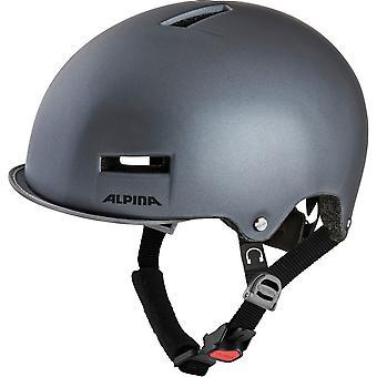 Alpina Grunerlokka Fahrradhelm // titanium