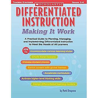Differentierade instruktion: Att göra det arbete