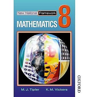 Nouveau cadre National mathématiques 8 Core élèves livre