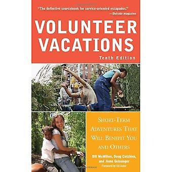 Volontär Vacations: Kortsiktiga äventyr som kommer att gynna dig och andra