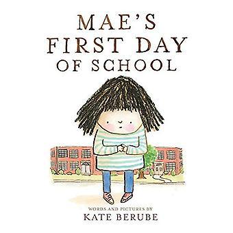 Mae pierwszy dzień w szkole