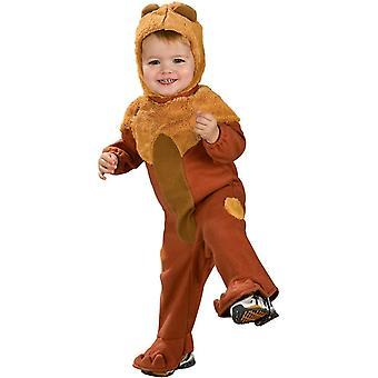 Costume pour bébé Lion peureux