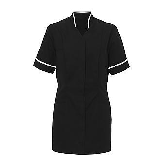 Alexandra Womens Mandarin Collar tuniek / gezondheid schoonheid / medische werkkleding (Pack van 2)