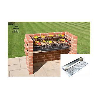 Black Knight mursten grill Kit BKB 801GB