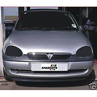 Sparkrite - cubiertas de faros de coche Vauxhall Corsa 93-99