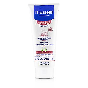 Mustela Soothing Moisturizing Lotion - For Very Sensitive Skin - 200ml/6.76oz