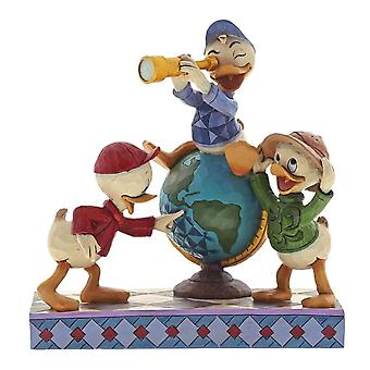 Disney Traditions Huey, Dewie und Louie ' Navigating Nephews ' Figurine