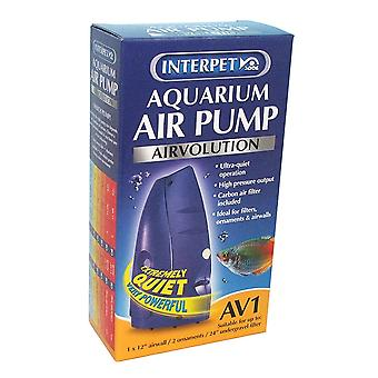 Interpet AirVolution AV1 Aquarium Air Pump