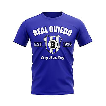 T-shirt da calcio Real Oviedo Established (Blu)