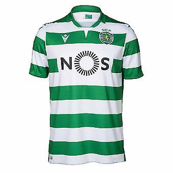 2019-2020 Sporting Lisbon autentiska hem fotbollströja (Kids)