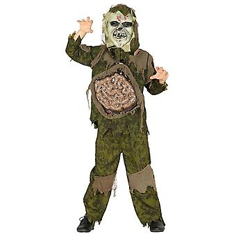 Drenge Childrens Guts monster Halloween fancy kjole kostume
