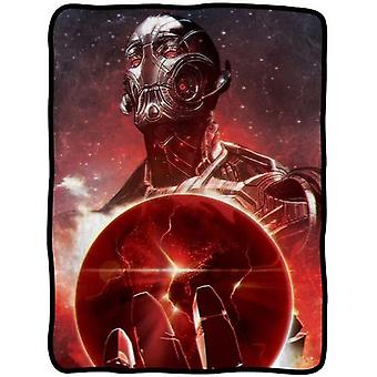 Blanket Marvel Avengers Movie 2 Ultron World Fleece Throw cfb-aum2-ultron