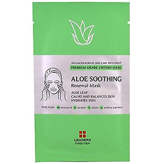 Leaders Insolution Aloe Soothing Renewal Mask 1 Sheet