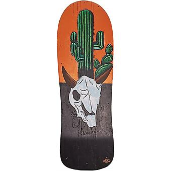 Reclaimed & Upcycled Acryl Painted Skateboard - Cactus & Skull door Rosie I Young