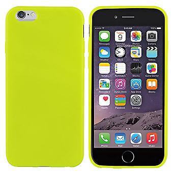 اي فون 6 زائد سيليكون حالة الضوء الأخضر - CoolSkin