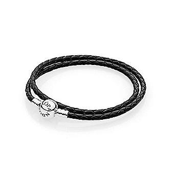 Pandora Silver Women's Braided Bracelet - 590745CBK-D1