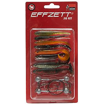 New Dam Effzett Jig Kit Fishing Gear Multi Sport Outdoors