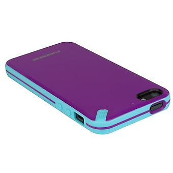 Puregear Snap On Slim Shell Case para Apple iPhone 5 / 5S - Passion Fruit Purple