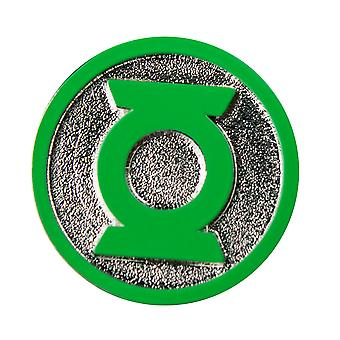 Green Lantern Logo Colour Enamel Lapel Pin