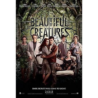 Beautiful Creatures Poster Double Sided Advance (2013) Original Cinema Poster