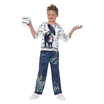 Chłopcy chłopiec David Walliams Billionaire Fancy Dress kostium