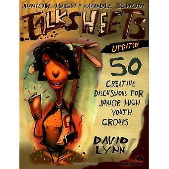 Junior High en Middle School Talksheets--bijgewerkt! : 50 creatief discussies voor Junior hoge jeugdgroepen