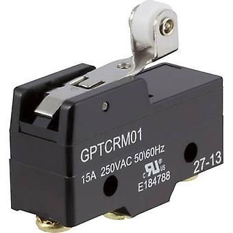 ZF Microswitch GPTCRM01 250 V AC 15 A 1 x On/(On) momentary 1 pc(s)