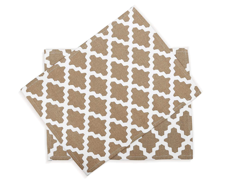 Penguin Home - 100% Cotton Placemats Set of 6 - Soft, Durable