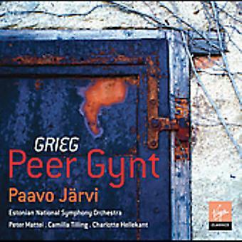 Paavo Jarvi - Grieg: Peer Gynt [CD] USA import