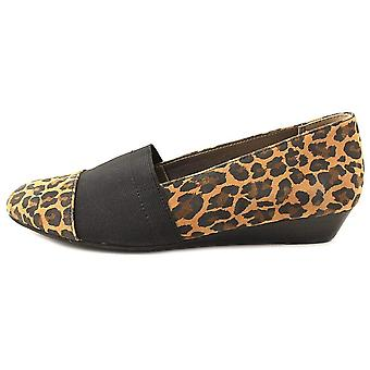 TABLEAU Womens Kai cuir amande Toe mocassins