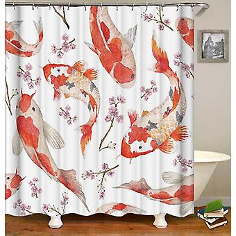 Koi fisk Shower gardin