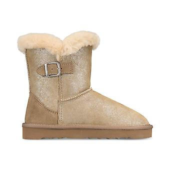 Style & Co. Womens Tiny Faux Fur Closed Toe Ankle Cold Weather Boots