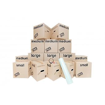 StorePak Storepak 1-2 Bedroom House Moving Cardboard Packing Boxes