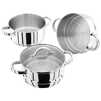 Judge Steamers, 18cm 3 Tier Steamer Set