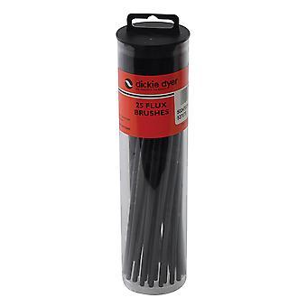 Pennelli Flux 25pk - Maniglia Nera