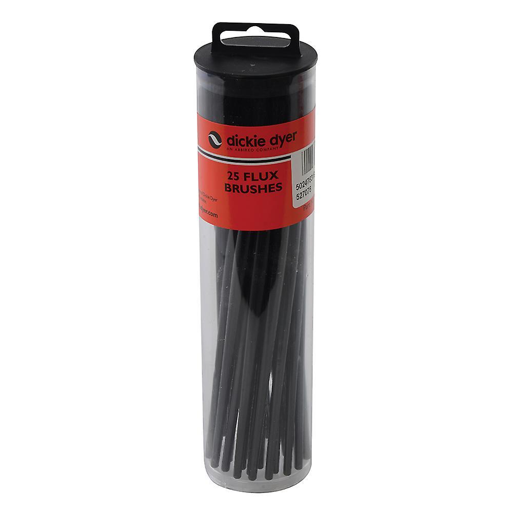 Flux Brushes 25pk - Black Handle