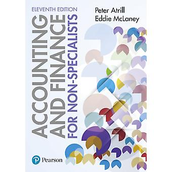 Accounting and Finance for NonSpecialists 11th edition by Peter Dr Atrill