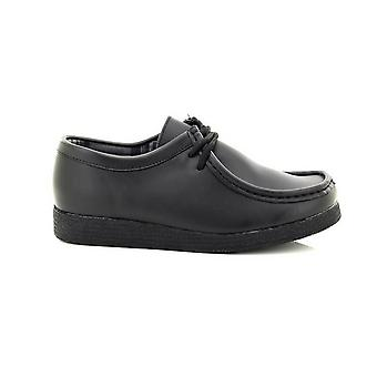 Route 21 Boys Coated Leather Apron Para Shoes