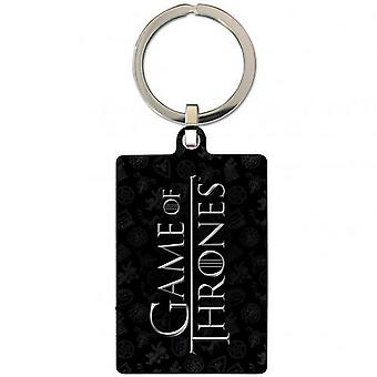 Game Of Thrones Lannister Metal Keyring