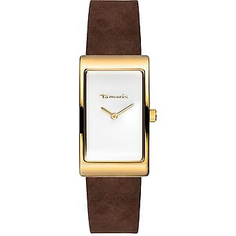 Tamaris - wristwatch - Aila - DAU 22 - 5 x 38 - 5mm - gold - ladies - TW026 - brown gold white